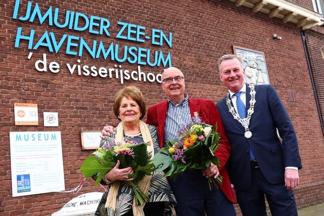 Lintjes voor vrijwilligers Zee- en Havenmuseum
