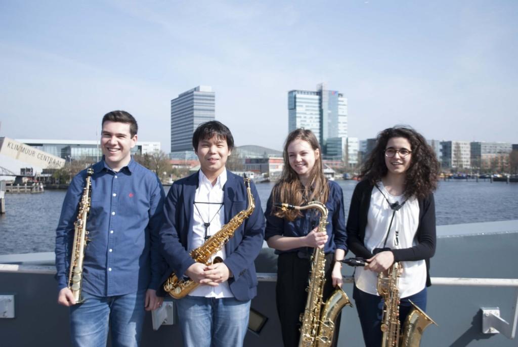 Het Lagom Saxofoonkwartet