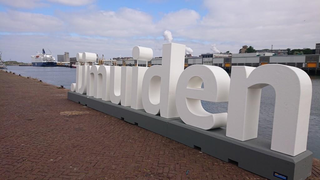 Letters aangekomen in IJmuiden