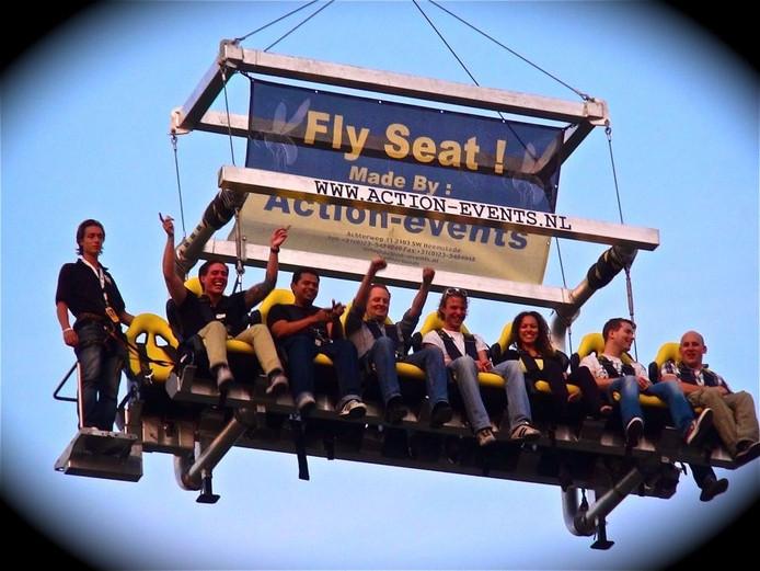 Fly-seat op Havenfestival IJmuiden