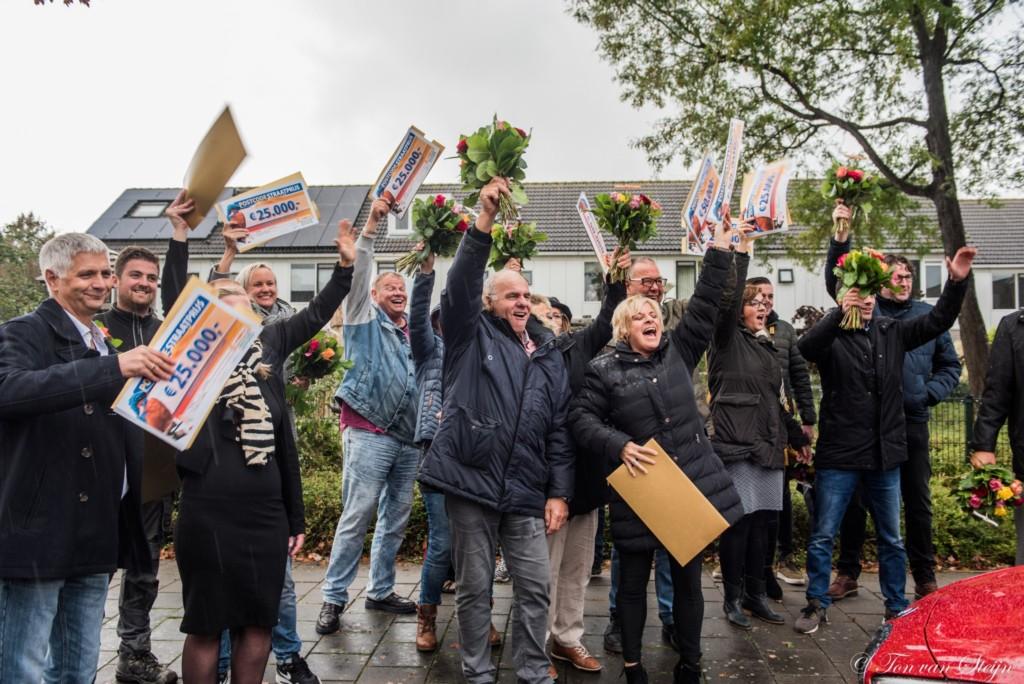 Prijs Postcode Loterij in Velserbroek