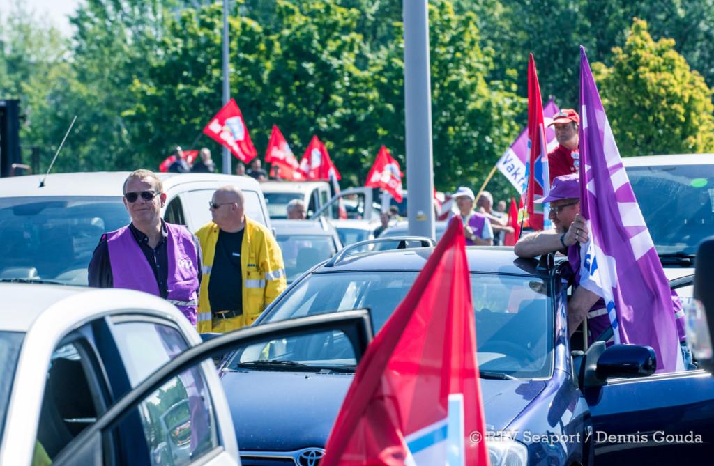 toeterprotest tata steel (2)
