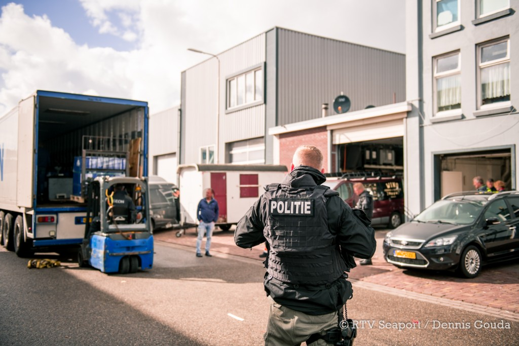 Grote drugsvangsten in havengebied