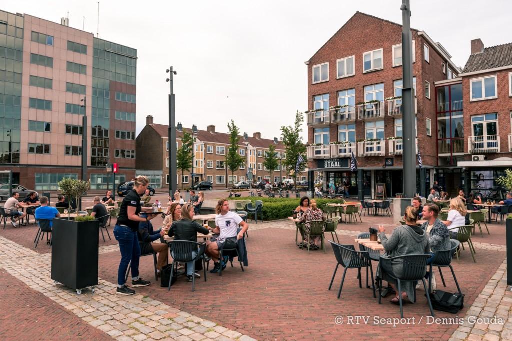 De terrassen zijn ook in Velsen weer geopend!