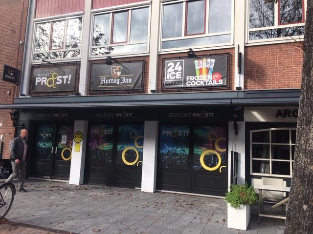 Feestcafé Proost voor twee weken gesloten