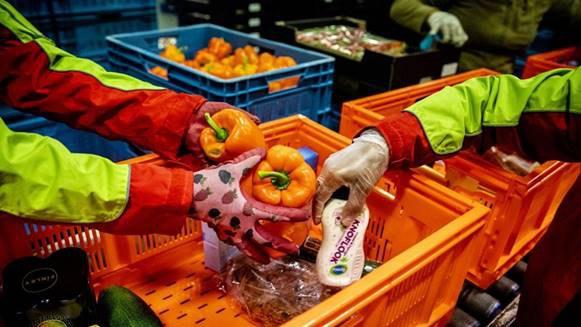 Voedselbank Velsen biedt Noodhulp