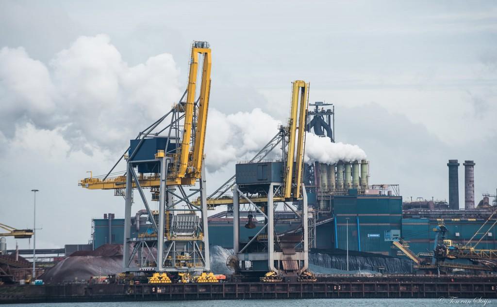 Mislukte test nieuwe loskraan TATA Steel