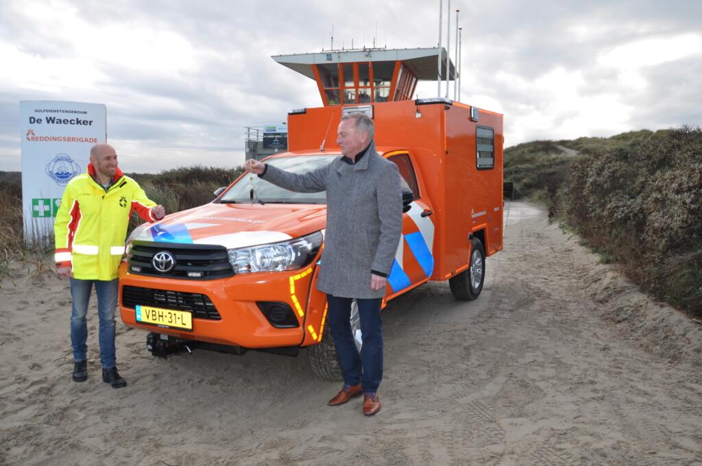Nieuwe ambulance voor de IJRB