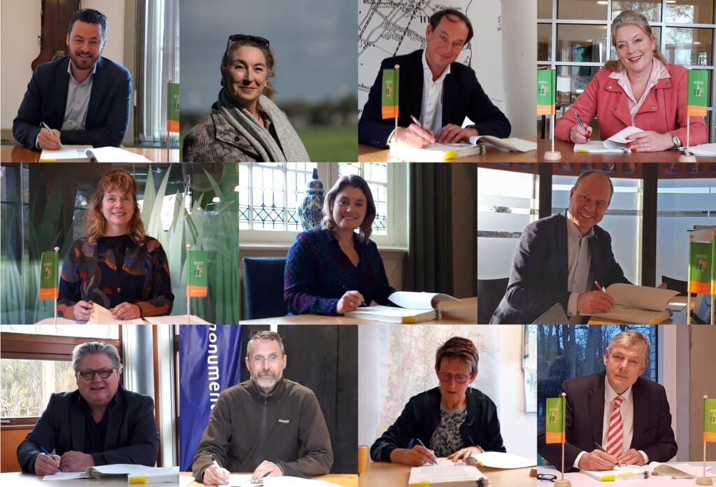 Samenwerking Wandelnetwerk  ondertekend