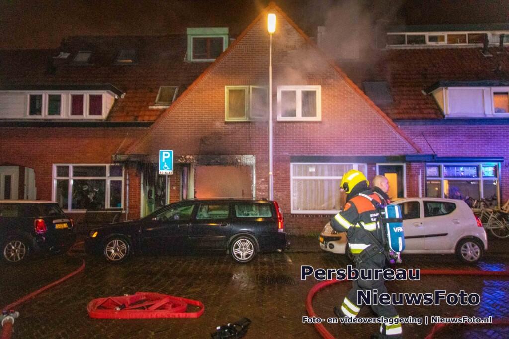 Hulp gevraagd voor echtpaar afgebrand huis in IJmuiden