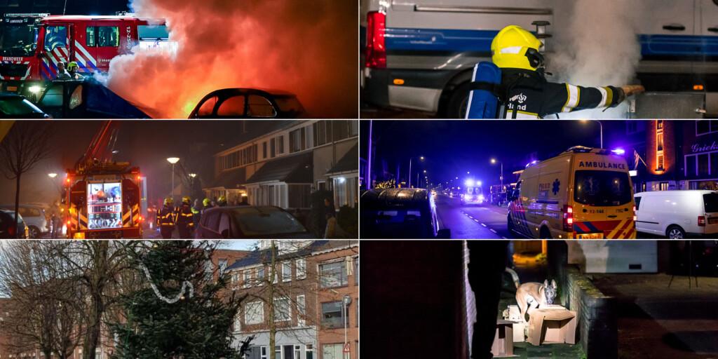 Op enkele 'incidenten' na relatief rustige jaarwisseling