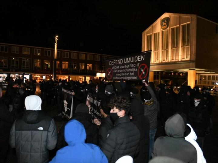 Demonstratie Defend IJmuiden vroegtijdig beëindigd