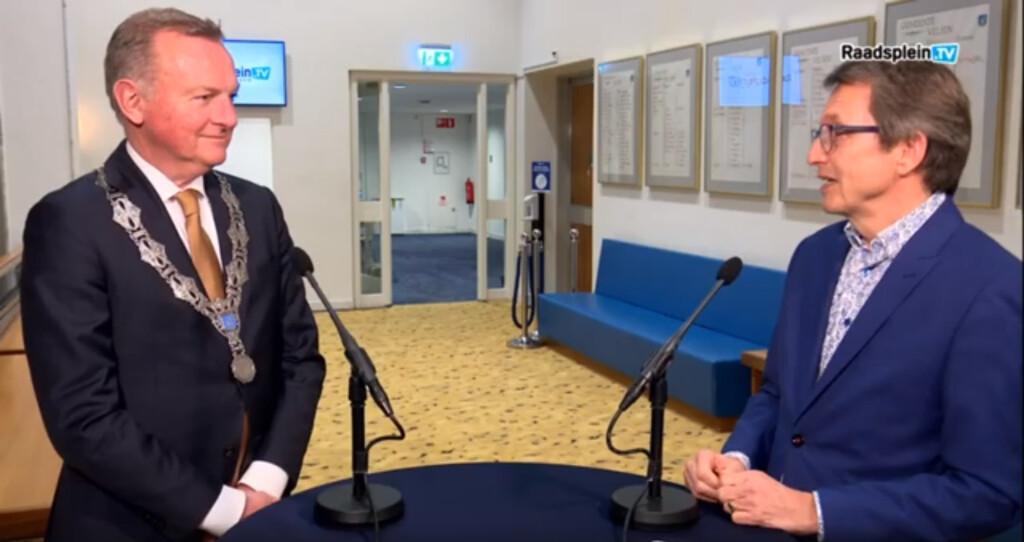 Burgemeester Dales over onrust in Velsen