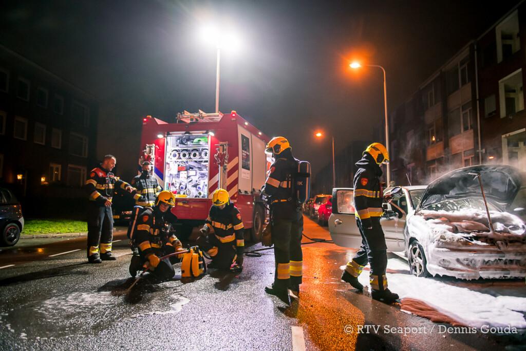 Autobrand in IJmuiden