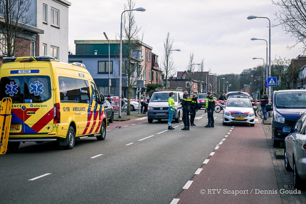 Voetganger gewond bij ongeval op Zeeweg IJmuiden
