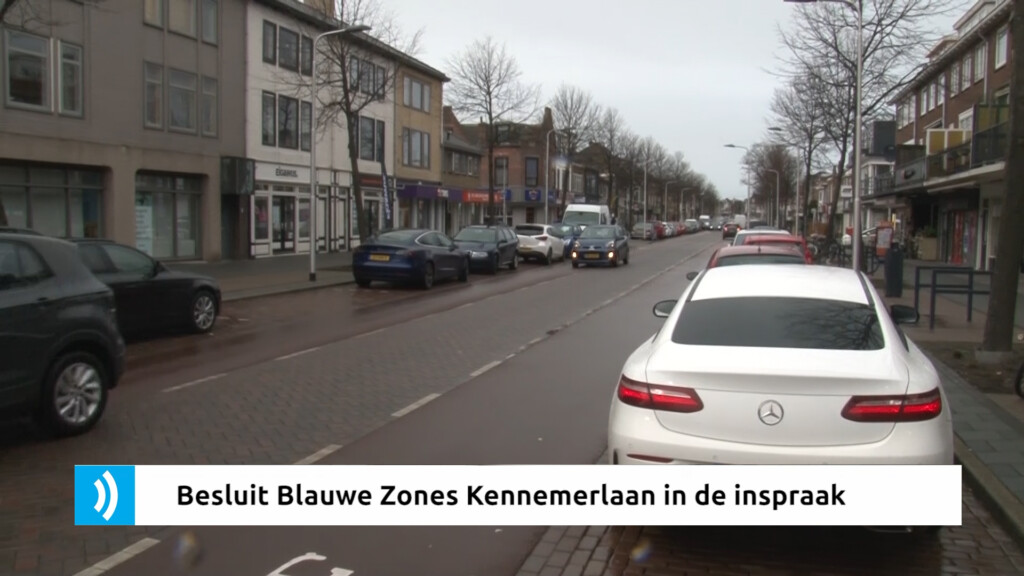 VIDEO – Besluit Blauwe Zones Kennemerlaan in de inspraak