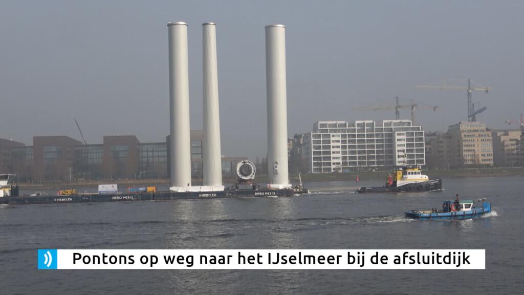 VIDEO – Regionale werkzaamheden Offshore Wind in zeehaven IJmuiden