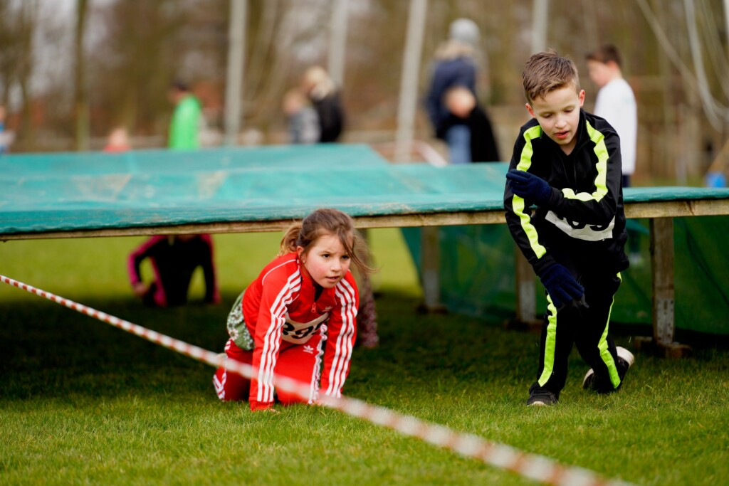 Overwinningsroes na obstacle cross Suomi