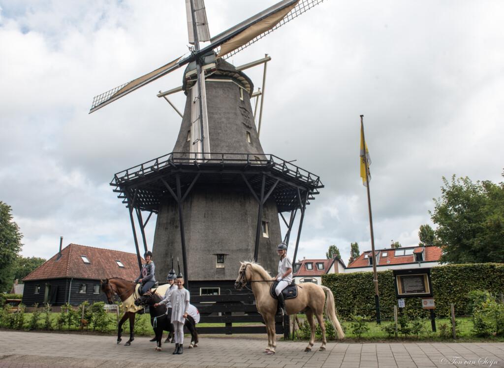Puzzeltocht voor paard en ruiter door Santpoort