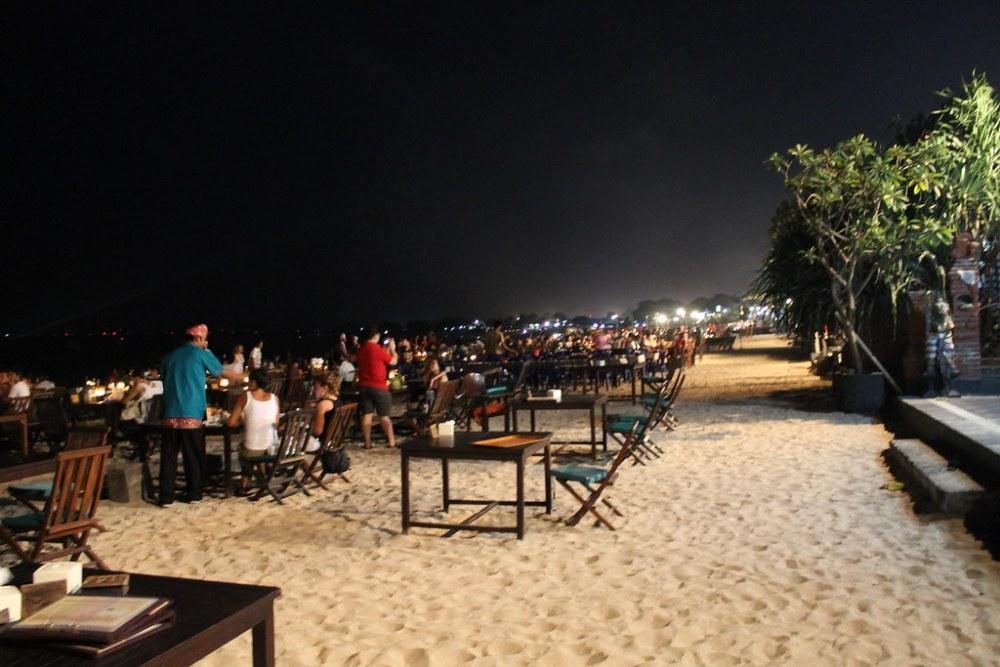 Jimbaran Bay Beach Dinner