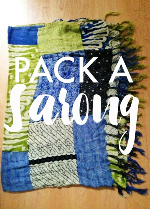 Pack A Sarong