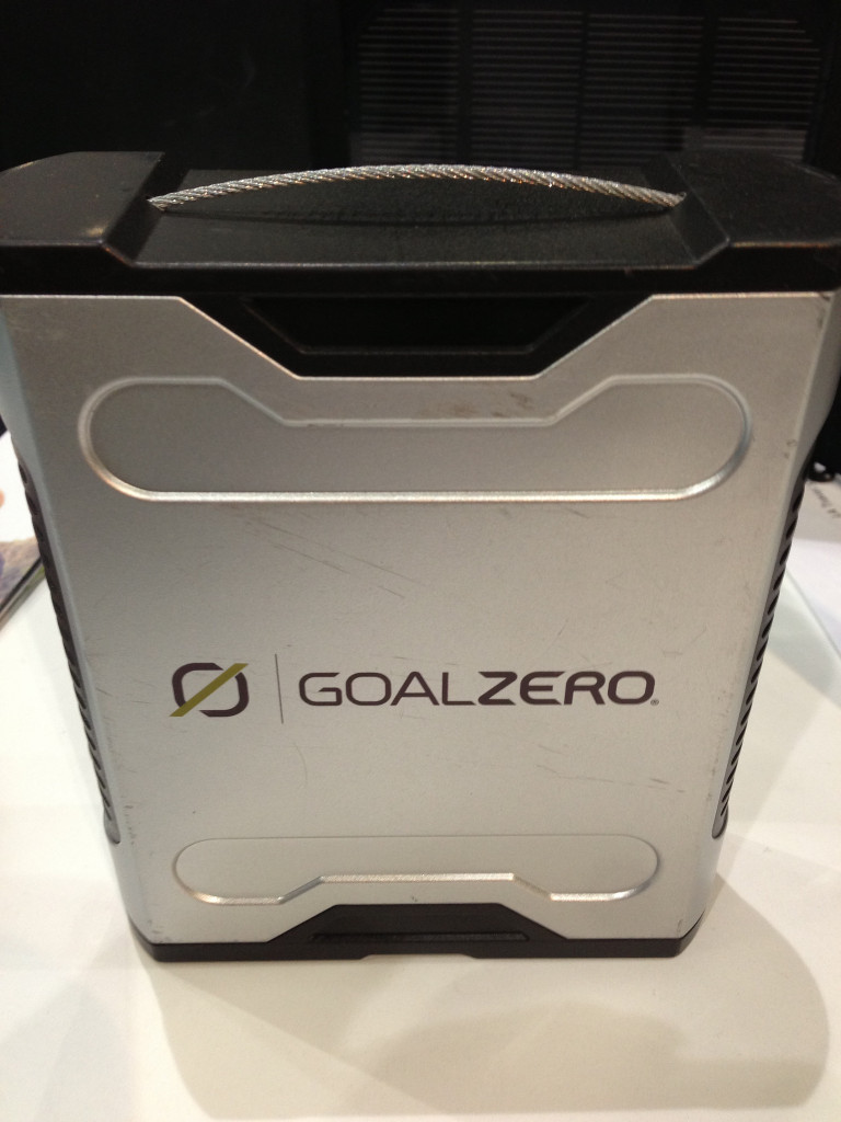 Goal Zero Solar Charger for Travel
