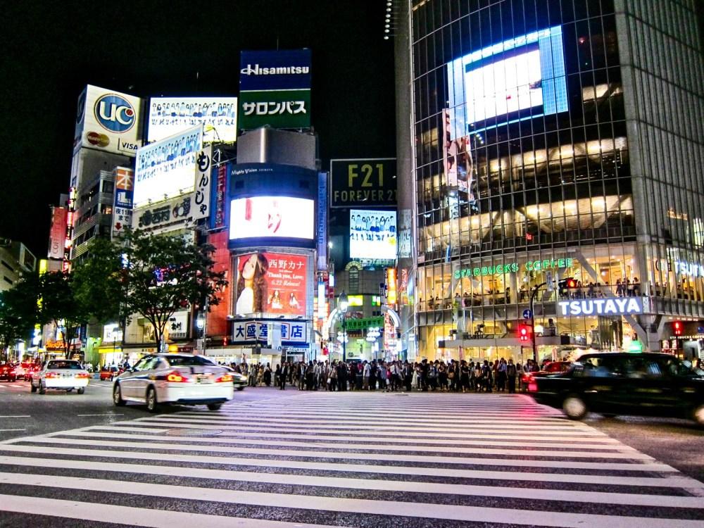 Shibuya Crosswalk | rtwgirl