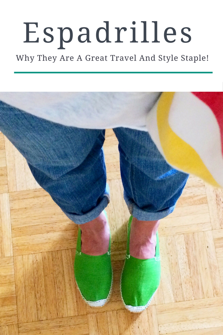 Espadrilles: Why They Are A Great Travel And Style Staple! | www.rtwgirl.com