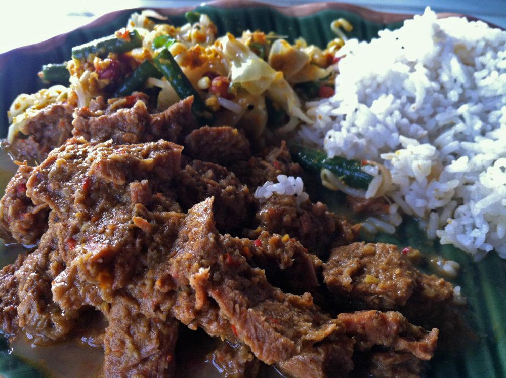 Beef Rendang - Bali Food | www.rtwgirl.com