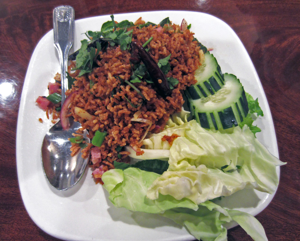 Lotus of Siam Crispy Rice   www.rtwgirl.com