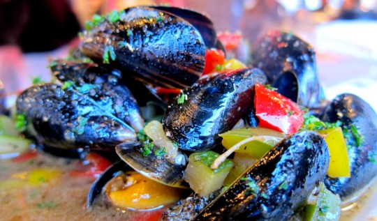 Mussels at La Mer du Nord - Brussels