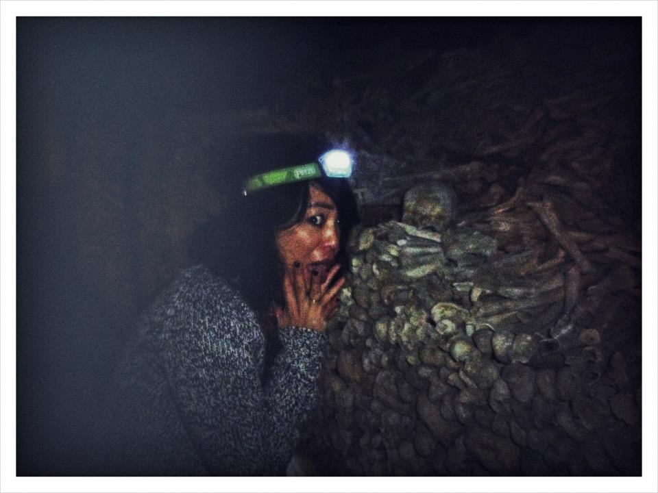 Petzl Headtorch for RTW Trip - Paris Catacombs