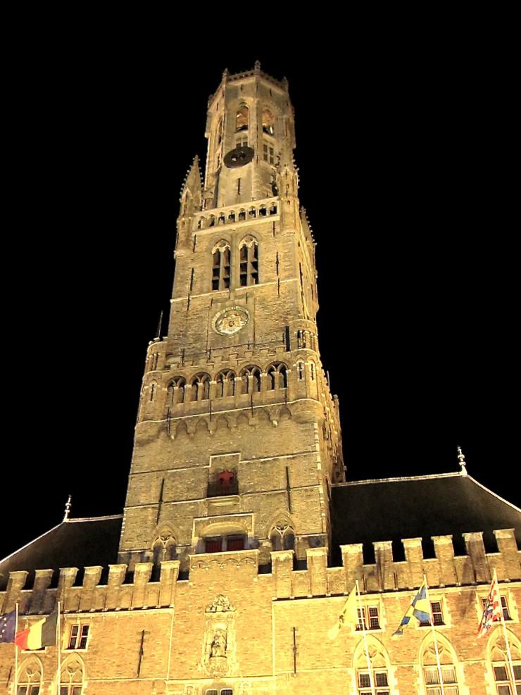 Brugge Belgium Belfry