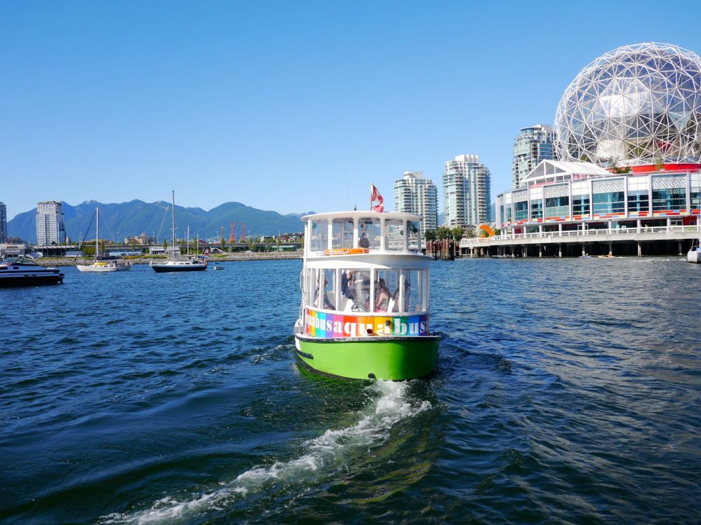 Vancouver Aquabus - Best Things To Do On A Budget In Vancouver