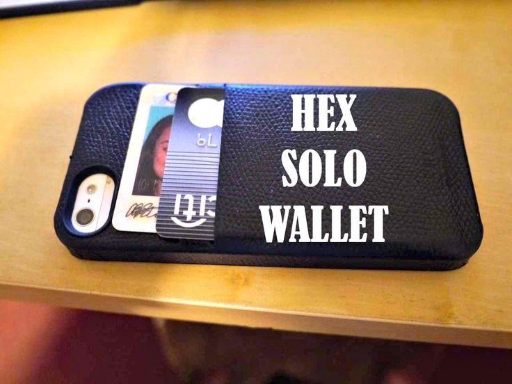 Hex Solo iPhone Wallet
