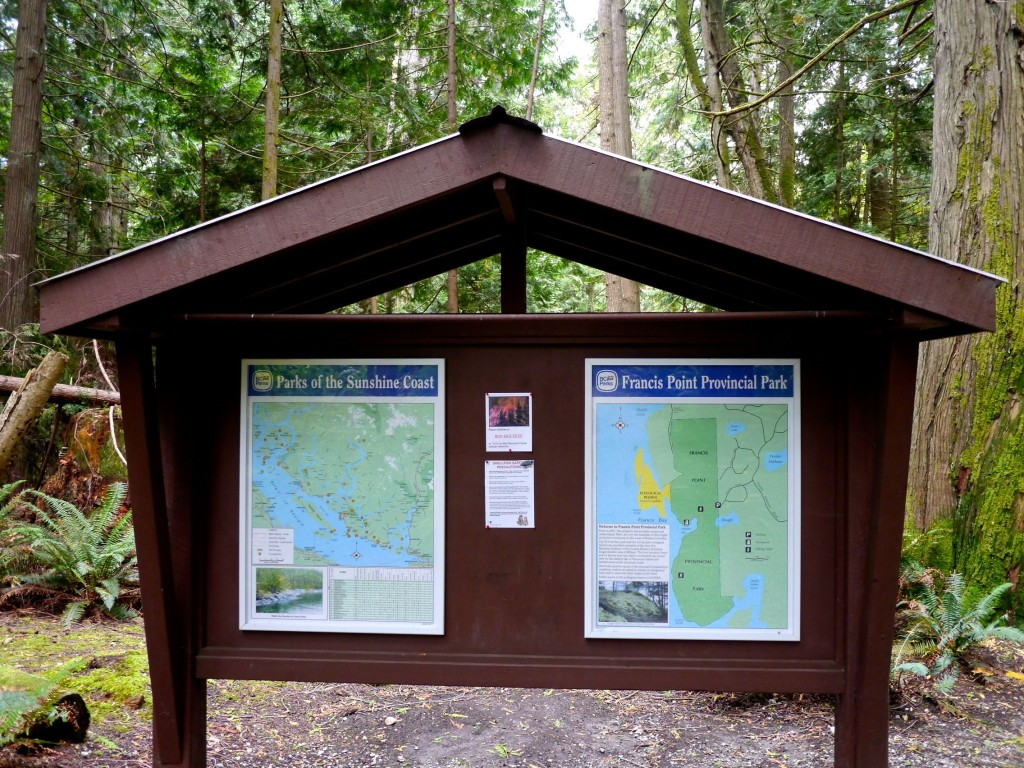 Francis Point Provincial Park - Sunshine Coast BC | www.rtwgirl.com