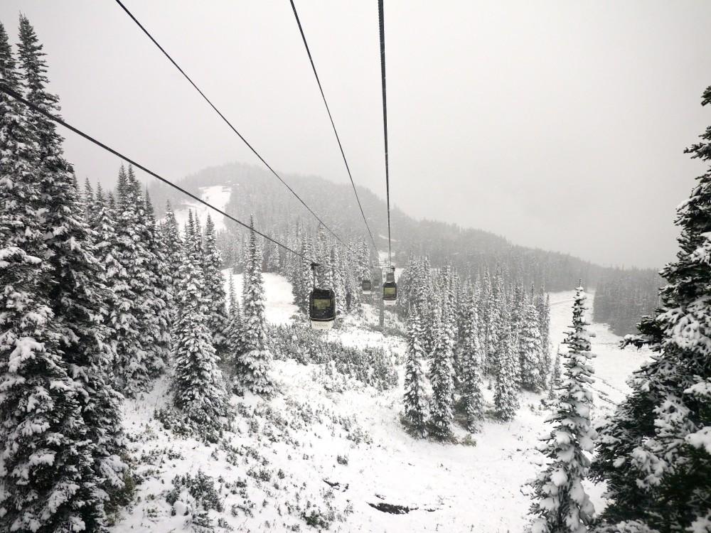Snow Whistler Gondola