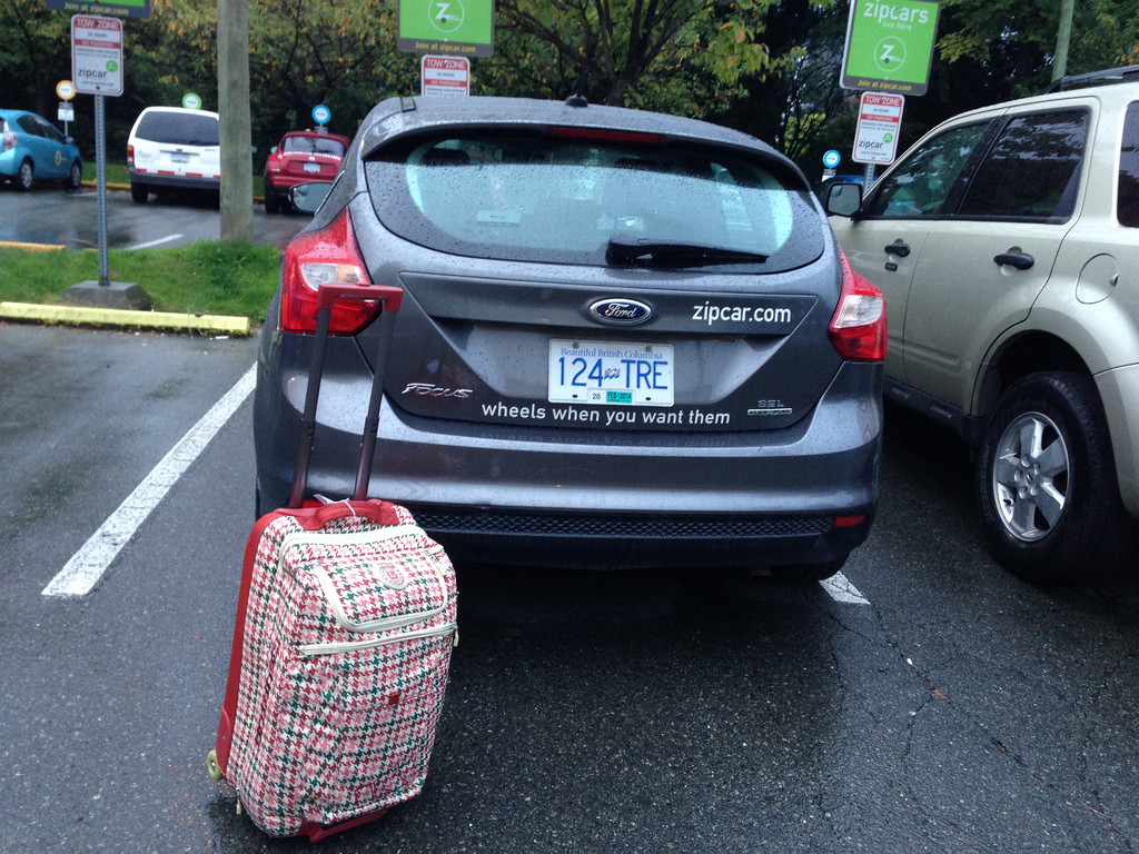 Zipcar Using The Car Sharing Service When You Travel