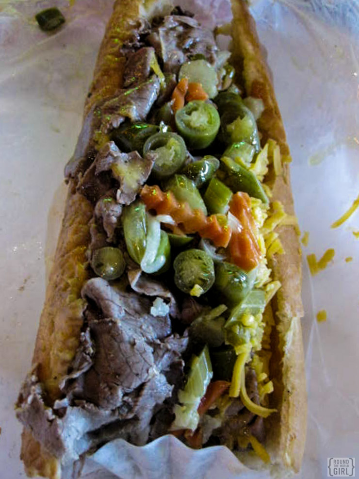 Italian Beef - Chicago Destination Guide | www.rtwgirl.com