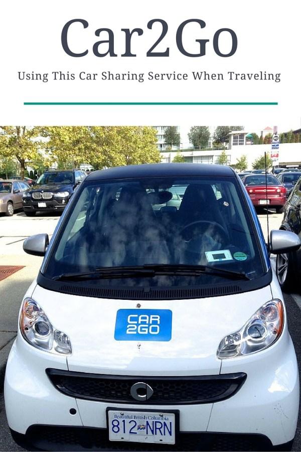 Using Car2Go for travel