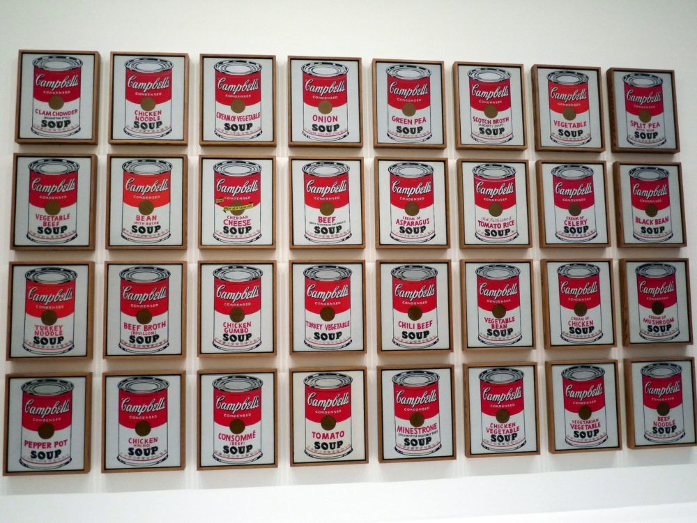 NYC CityPASS Campbell Soup Cans Warhol