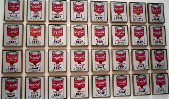NYC CityPASS Campbell Soup Cans Warhol | www.rtwgirl.com