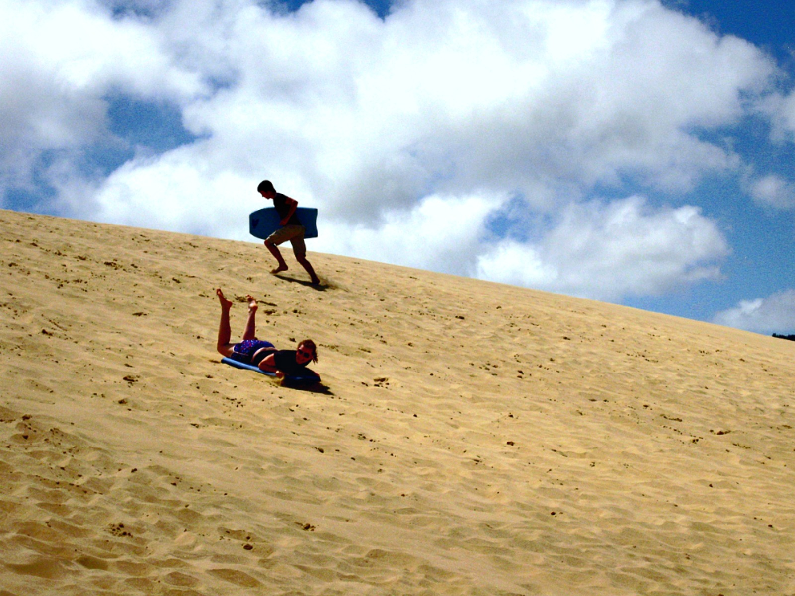 Sandboarding - Cape Reinga + 90 Mile Beach: Dune Rider Tour | www.rtwgirl.com