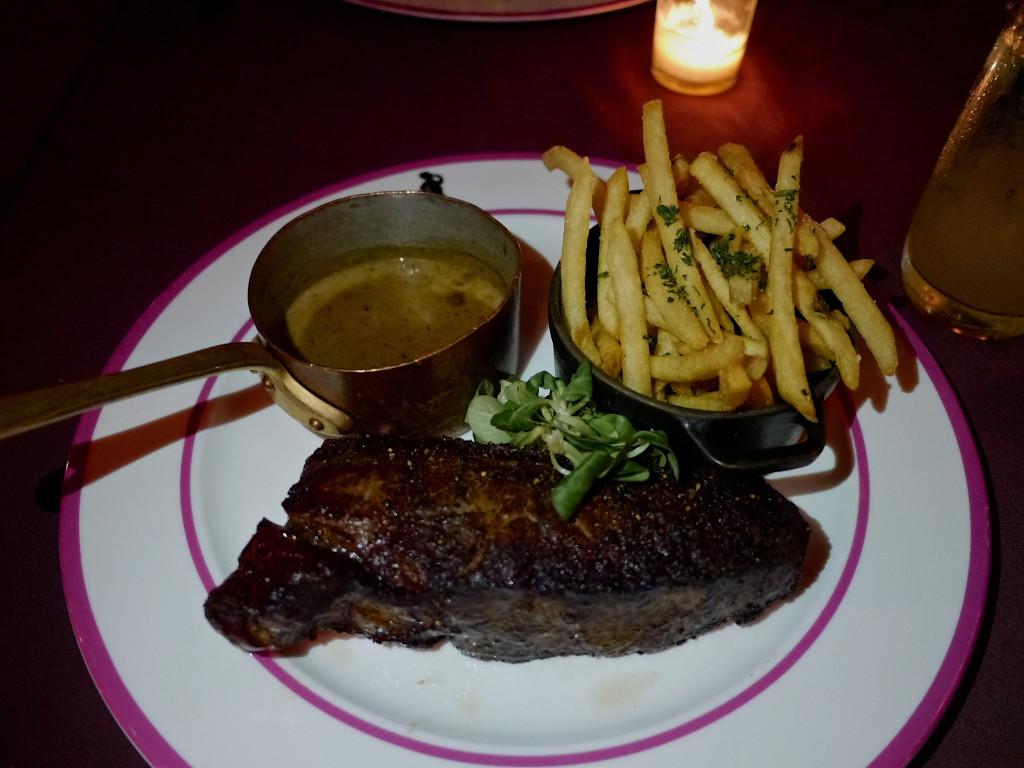 Steak at Mister Parkers Parker Palm Springs | www.rtwgirl.com