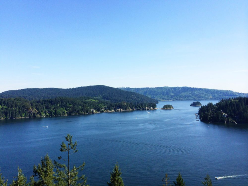 Deep Cove View From Quarry Rock
