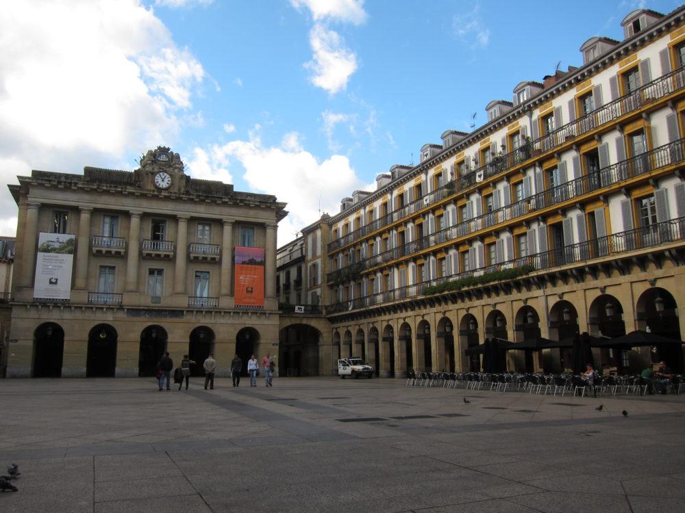 La Plaza Constitution - San Sebastian Spain | www.rtwgirl.com