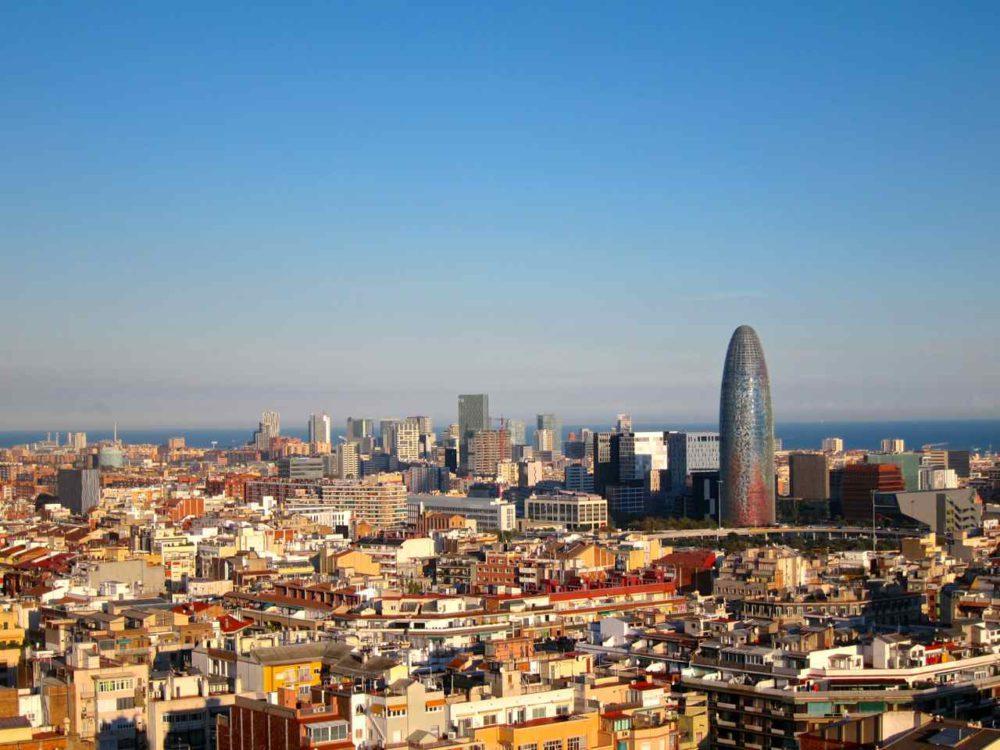 View of Barcelona from Sagrada Familia- Barcelona Inspiration | www.rtwgirl.com