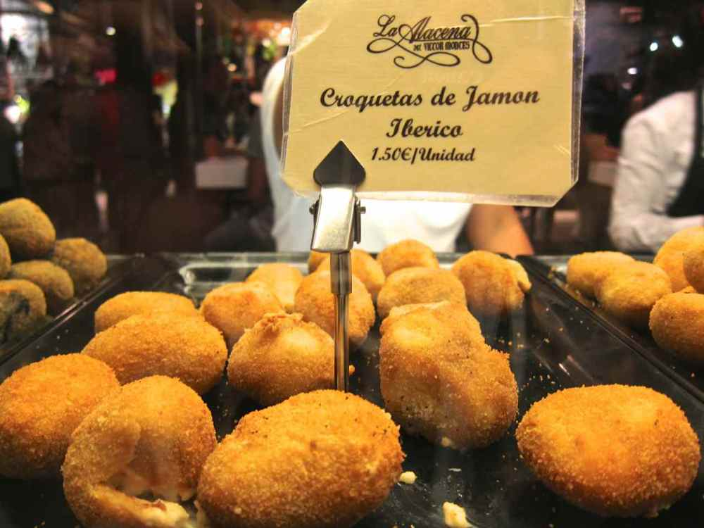 Croquetas in Madrid