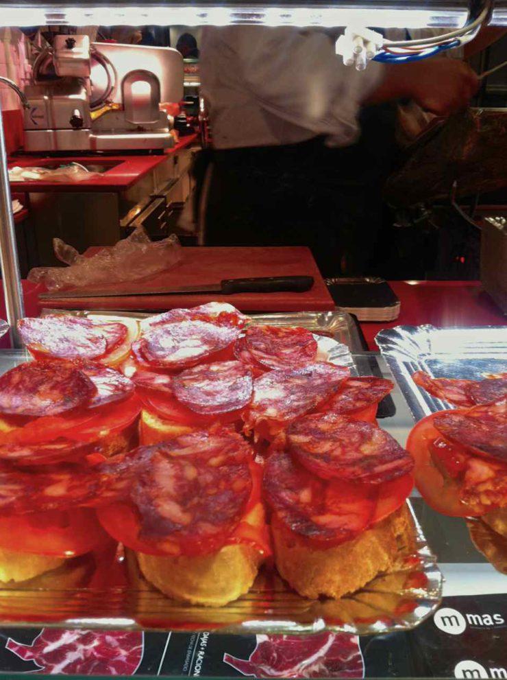 Jamon Iberico Madrid | www.rtwgirl.com