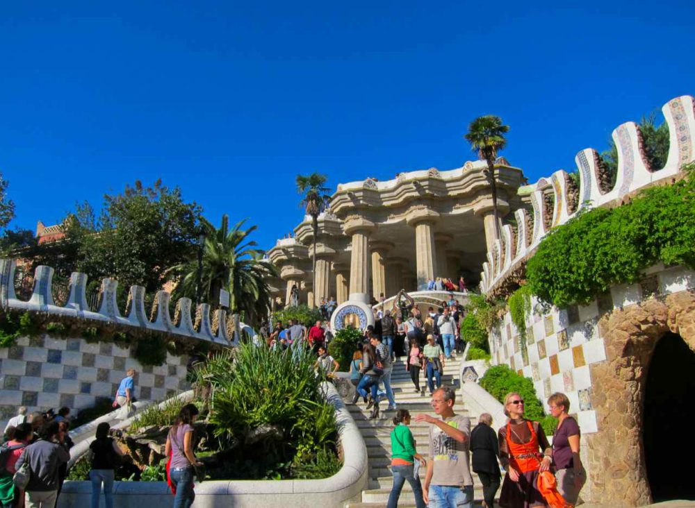 Parc Guell - Barcelona, Spain | www.rtwgirl.com
